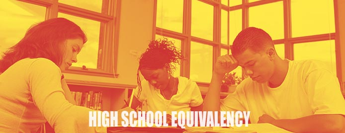 High School Equivalency GED